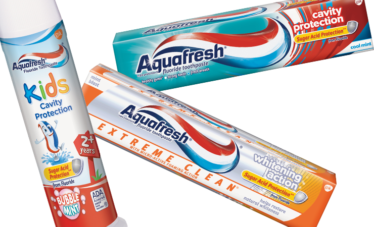 Aquafresh® for less